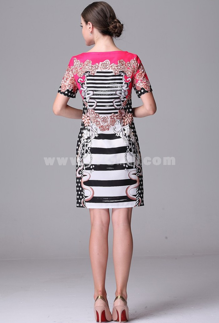 AS New Arrival Vintage Style Loose Dress Evening Dress ML13602