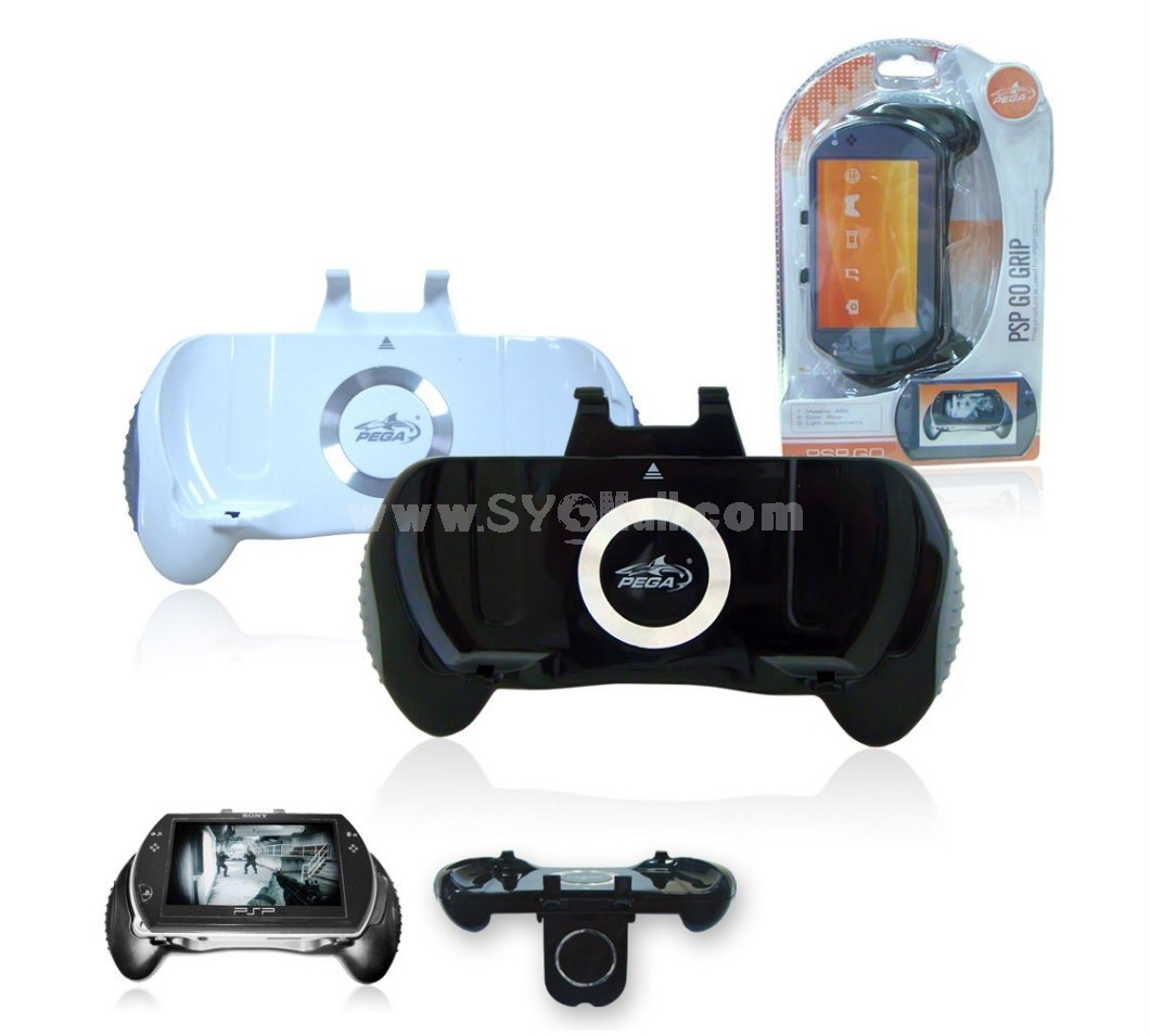 PSP GO Black RETRACTABLE AND RECHARGEABLE GRIP