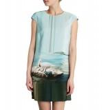 Wholesale - COAST  Fashion Pring Straight Dress Evening Dress 6301