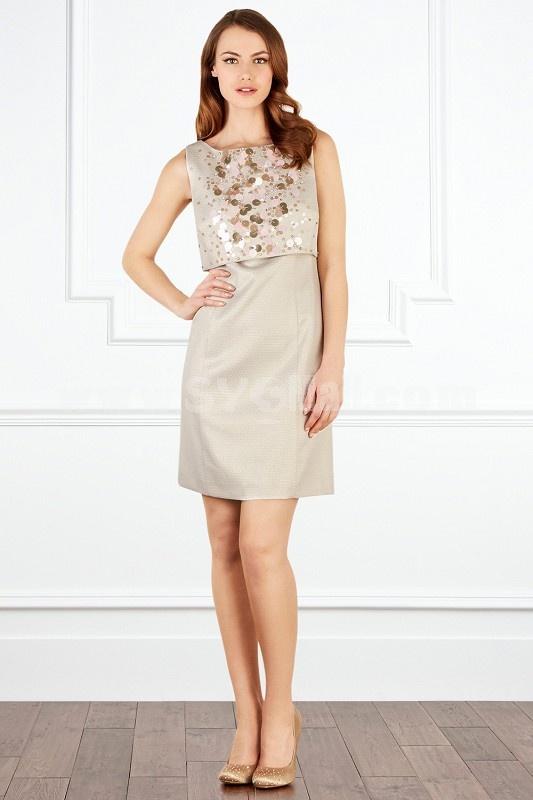 COAST New Arrival Elegant Sequins Decoration Lady Dress Evening Dress