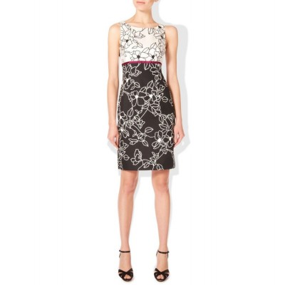 http://www.orientmoon.com/86305-thickbox/hb-new-arrival-elegant-flower-printing-color-contrast-sleeveless-slim-dress-evening-dress-014.jpg