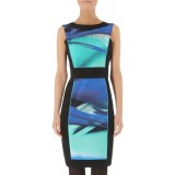 Wholesale - AS  Fashion Color Round Neck Dress Evening Dress KL710
