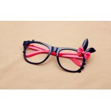 Wholesale - Cute bowknot sweet color spectacle frame