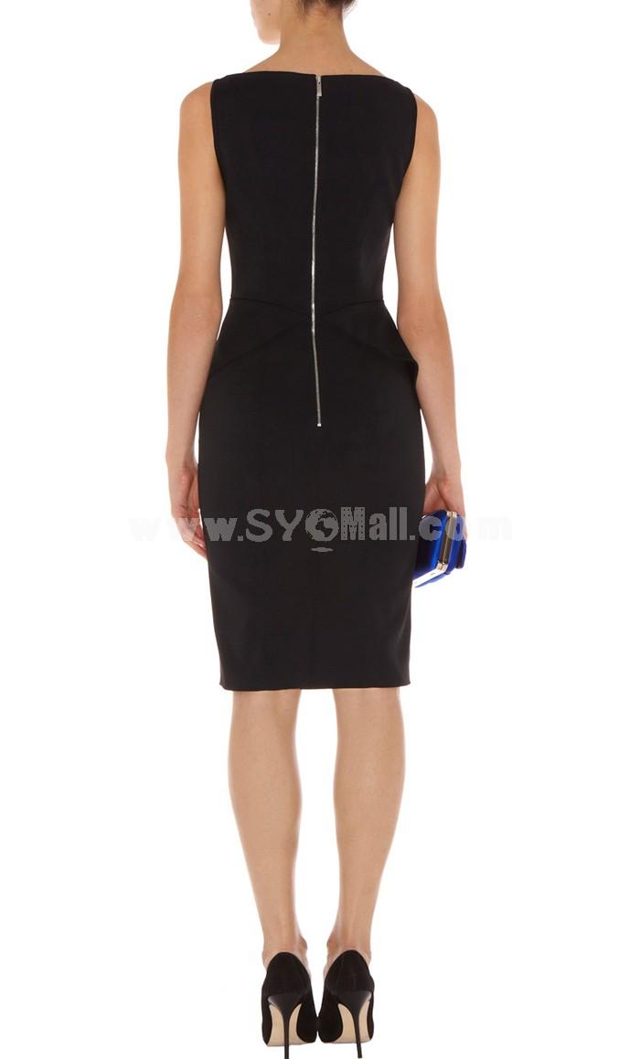 KM New Arrival Elegant Slim Lady Dress Evening Dress DP234