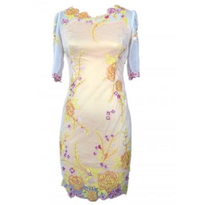 http://www.orientmoon.com/86621-thickbox/km-new-arrival-elegant-embroidery-fifth-sleeve-slim-dress-evening-dress-dq181.jpg