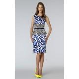 Wholesale - OL Style Falbala High Rise Dress Evening Dress AK9934
