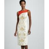Wholesale - AK Elegant Embroidery Printing Sleeveless Dress Evening Dress AK2271