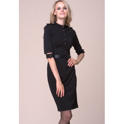 http://www.orientmoon.com/86731-thickbox/ol-style-black-fifth-sleeve-slim-dress-evening-dress.jpg