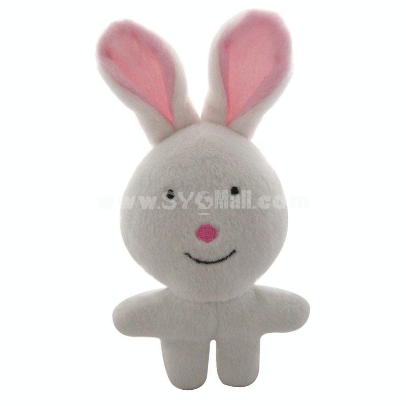 ForestSerise Animal Pattern Plush Toys With Sound Module -- Rabbit