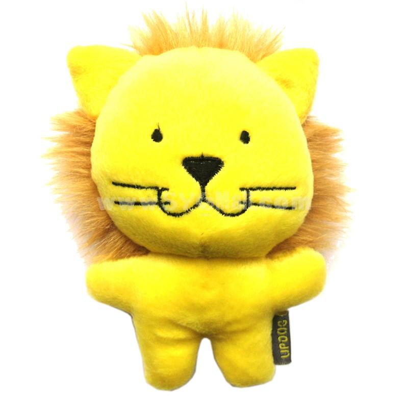 ForestSerise Animal Pattern Plush Toys With Sound Module -- Lion