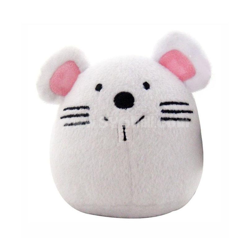 Cartoon Eggs Series Pet Plush Toys with Sound Module -- Mouse