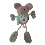 Wholesale - Long-leg Cute Animals Series Pet Plush Toys with Whistle inside -- Mouse
