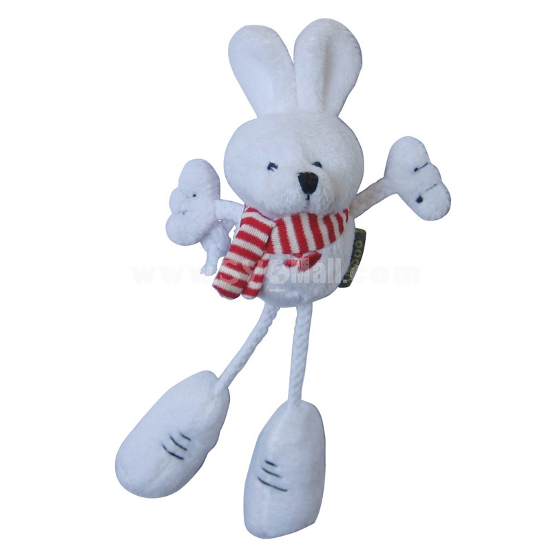 Long-leg Cute Animals Series Pet Plush Toys with Whistle inside -- Rabbit