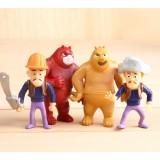 "Wholesale - 4pcs/Kit ""Here Comes The Bear"" PVC Action Figures/Garage Kit Model Toy"