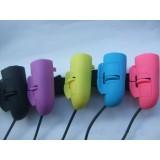 Wholesale - Candy Color USB Finger Mouse Optical Laptop Notebook PC 1200DPI