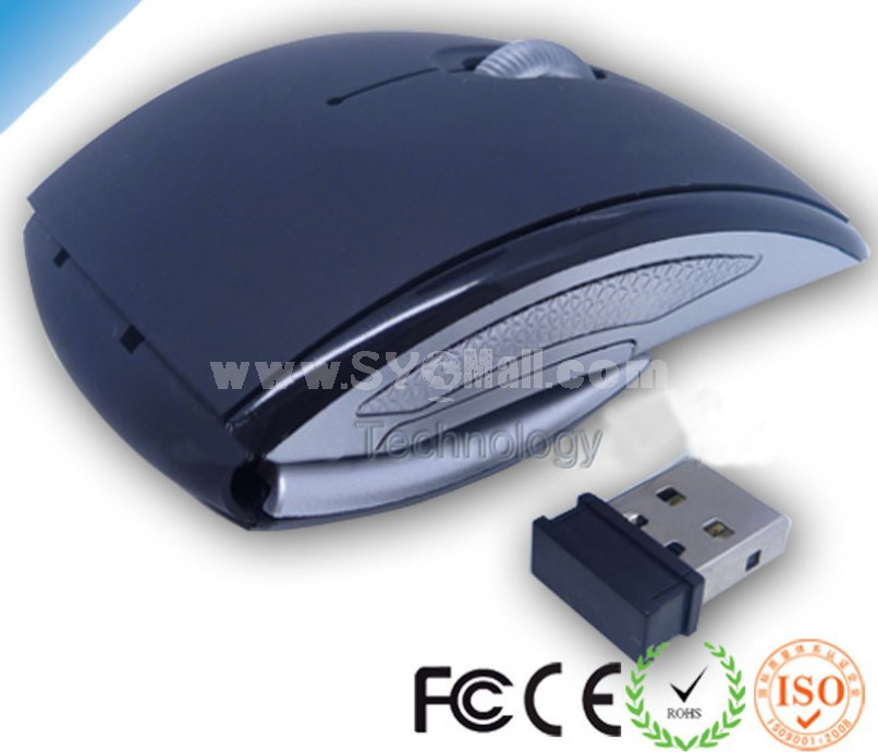 2.4G Wireless Foldable Mouse
