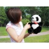 "Wholesale - Heart Panda Plush Toy Stuffed Animal Lovers' Gift 33cm/13"""