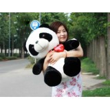 Wholesale - Heart Panda Plush Toy Stuffed Animal Lovers' Gift 65cm/25""