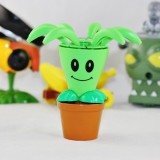 Wholesale - PLANTS VS ZOMBIES 2 Toys Bloomerang Plastic Spring Toy Figure Display Toy