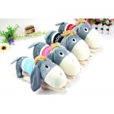 Wholesale - Big Head Cool Donkey Plush Toy Doll 28cm/11""