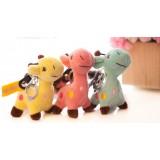 Wholesale - Giraffe Plush Toy Key Chain Cellphone Charm