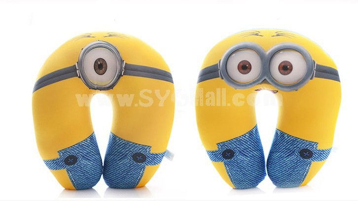 30cm/11.8inch Despicable Me 2 The Minions NM Foam Particles U-shaped Pillow