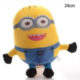 "Wholesale - DESPICABLE ME 2 The Minions Foam-Particles Doll 24cm/9.4"" Tall"