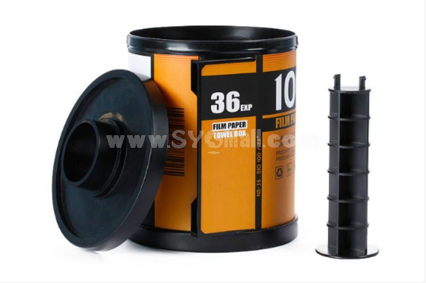 Creative film tissue box