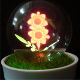 Wholesale - Cute & Novel sunflower bonsai table lamp