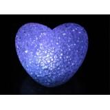 Wholesale - cute& novel heart d crystal night light