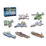 Wholesale - Cute & Novel DIY 3D Jigsaw Puzzle Model - Mini Military 1