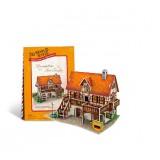 Wholesale - Cute & Novel DIY 3D Jigsaw Puzzle Model World Series - German Art Studio