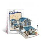 Wholesale - Cute & Novel DIY 3D Jigsaw Puzzle Model World Series - French Inn