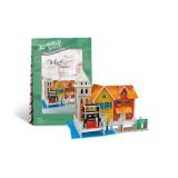 Wholesale - Cute & Novel DIY 3D Jigsaw Puzzle Model World Series - Italian Wharf