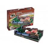 Wholesale - Cute & Novel DIY 3D Jigsaw Puzzle Model World Series - German Station