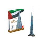 Wholesale - Cute & Novel DIY 3D Jigsaw Puzzle Model World Series - Burj Khalifa