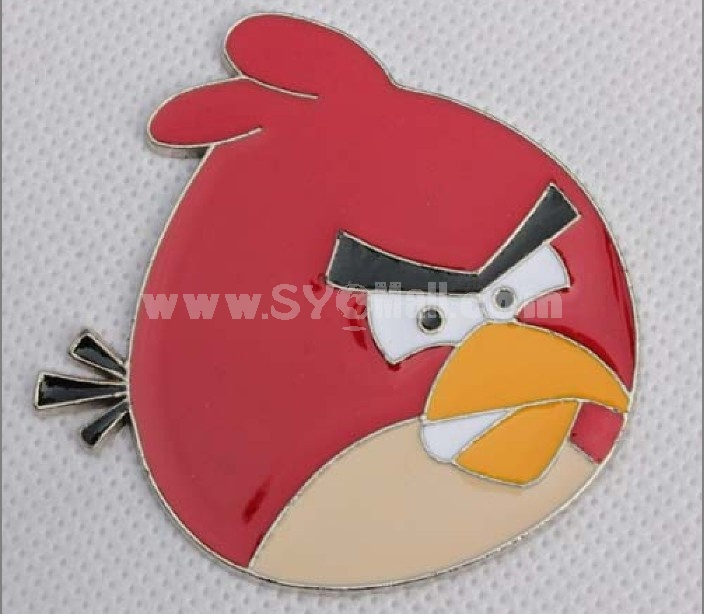 Metal angry birds car stickers