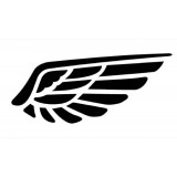 Wholesale - Cute Wing Car Decal Sticker