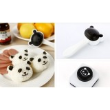 Wholesale - Cute Panda Shaped DIY Rice Mold with Nori Mold Knurling Tool Creative Kitchen Tool