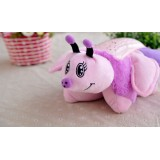 Wholesale - Cute & Novel Butterfly Plush Toy LED Starry Night Projector LED Night Light