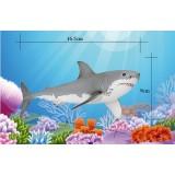 Wholesale - Sea Animals Novel Figurine Toys -- Great White Shark
