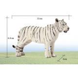 Wholesale - Land Animals Novel Figurine Toys -- White Tigress