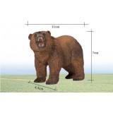 Wholesale - Land Animals Novel Figurine Toys -- Grey Bear