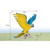 Wholesale - Land Animals Novel Figurine Toys -- Yellow Macaw