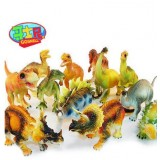 Wholesale - 12pcs/Kit Dinosaurs Novel Figureine Toys Jurassic Park