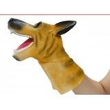 Wholesale - Soft Rubber Puppet Novel Figureine Toys Parent & Baby -- Puppy