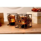 Wholesale - Bohemian Style Bronze Color Candle Holder Candlestick