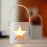 Wholesale - Modern Style Hallowed-out Star Shaped Candle Holder Candlestick