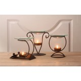 Wholesale - Iron Art Incense Burner Candle Holder Candlestick