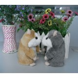 "wholesale - 5.5"" Russian Talking Hamster Stuffed Animal Voice Recording / Repeating Toy"